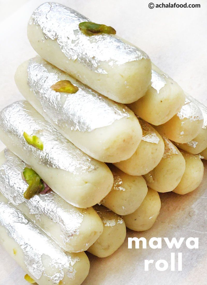 Mawa Roll Recipe Instant Mawa Roll Indian Sweet No Cook Recipe Recipe Sweets Recipes Recipes Indian Sweet