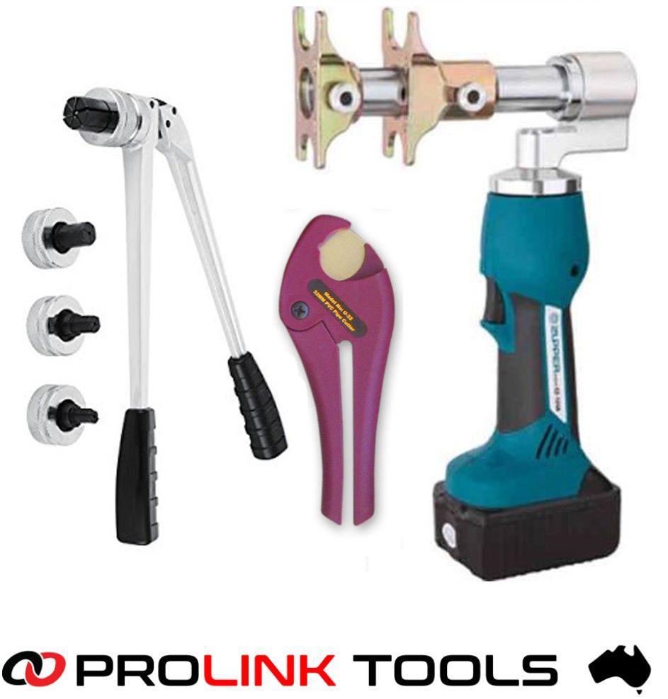 Plumbers Battery Tool Kit For Bushpex Pull On Ezi Pex Slide Forza Pex Sleeve Propex Psc Pex Sleeve Rehau Wate Plumbing Tools Shower Plumbing Plumbing Gifts