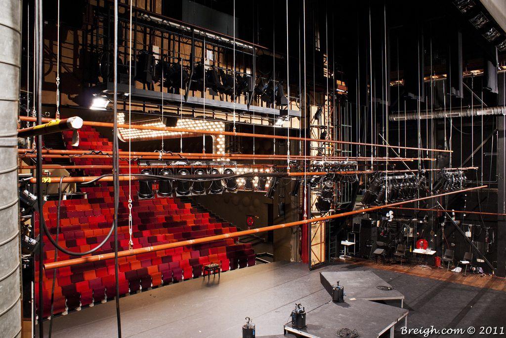 Oude Luxor Theater Backstage Theatre Architecture