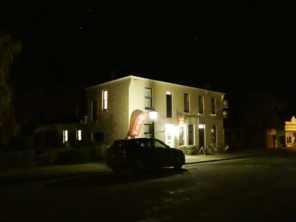 The end of day#3 - a meal out at the Ancient Briton Hotel, Naseby