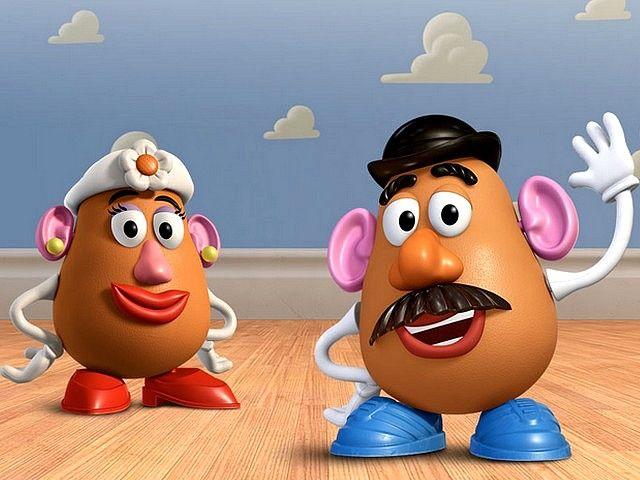 Toy Story 3 Mrs Potato Toy Story Crafts