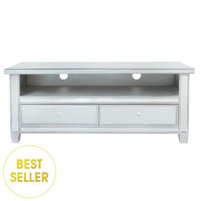 House Additions Mirror TV Stand