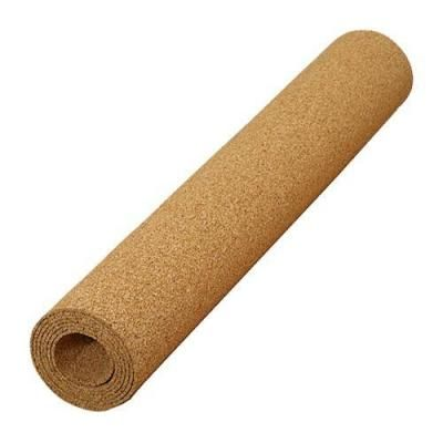 Qep 100 Sq Ft 48 In X 25 Ft X 1 4 In Natural Cork Underlayment Roll 72003q Cork Underlayment Floor Underlay Laminate Flooring