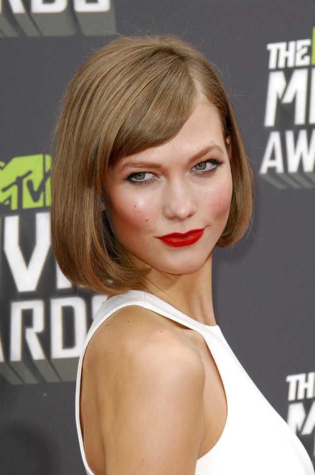 Karlie Kloss Bob Bobs And More Pinterest Karlie Kloss Bobs