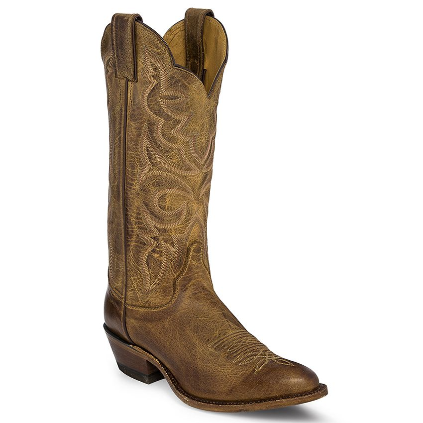 Justin Bent Rail Women's Cowhide Western Boots