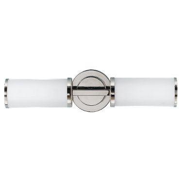 WB1334PN,2 - Light Sconce,Polished Nickel- bath