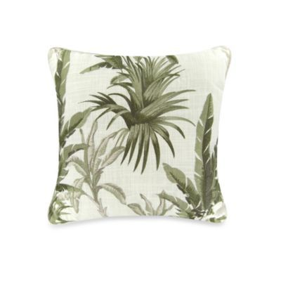 Bed Bath And Beyond Decorative Pillows Simple Buy Tommy Bahama Trellis Decorative Pillow In Palm Green From Bed Decorating Inspiration