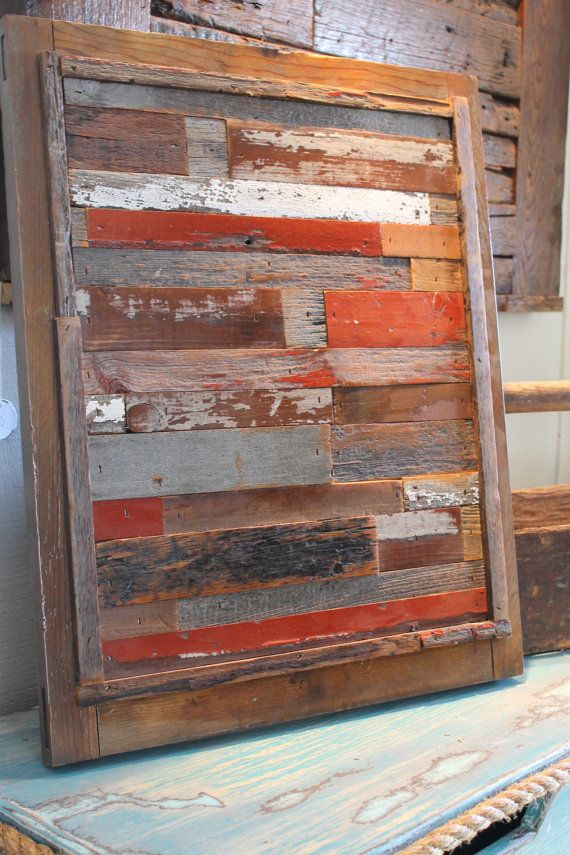 Reclaimed Barn Wood Art By ReLuxVintage On Etsy U2026