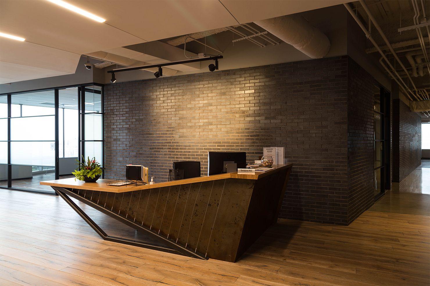 Confidential Client Milwaukee WI Front Desk& Entrance