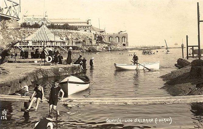Bagni Lido D Albaro Genova Foto Foto Storiche