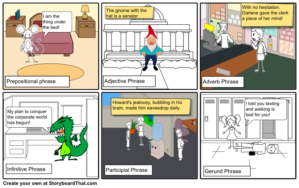 Teaching Advanced English Grammar With Storyboard That  English