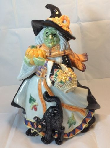 fitz and floyd halloween cookie jar