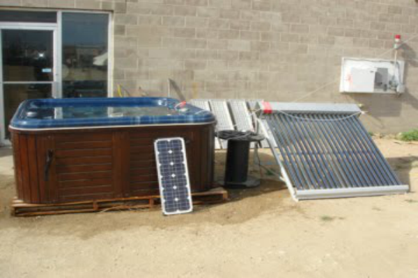 Solar Hot Tub Pannels Projects