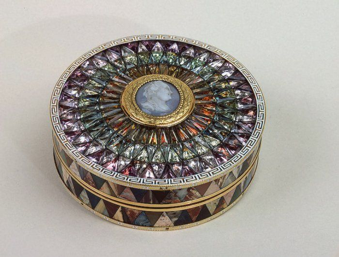 Jeweled Catherine the Great snuff box