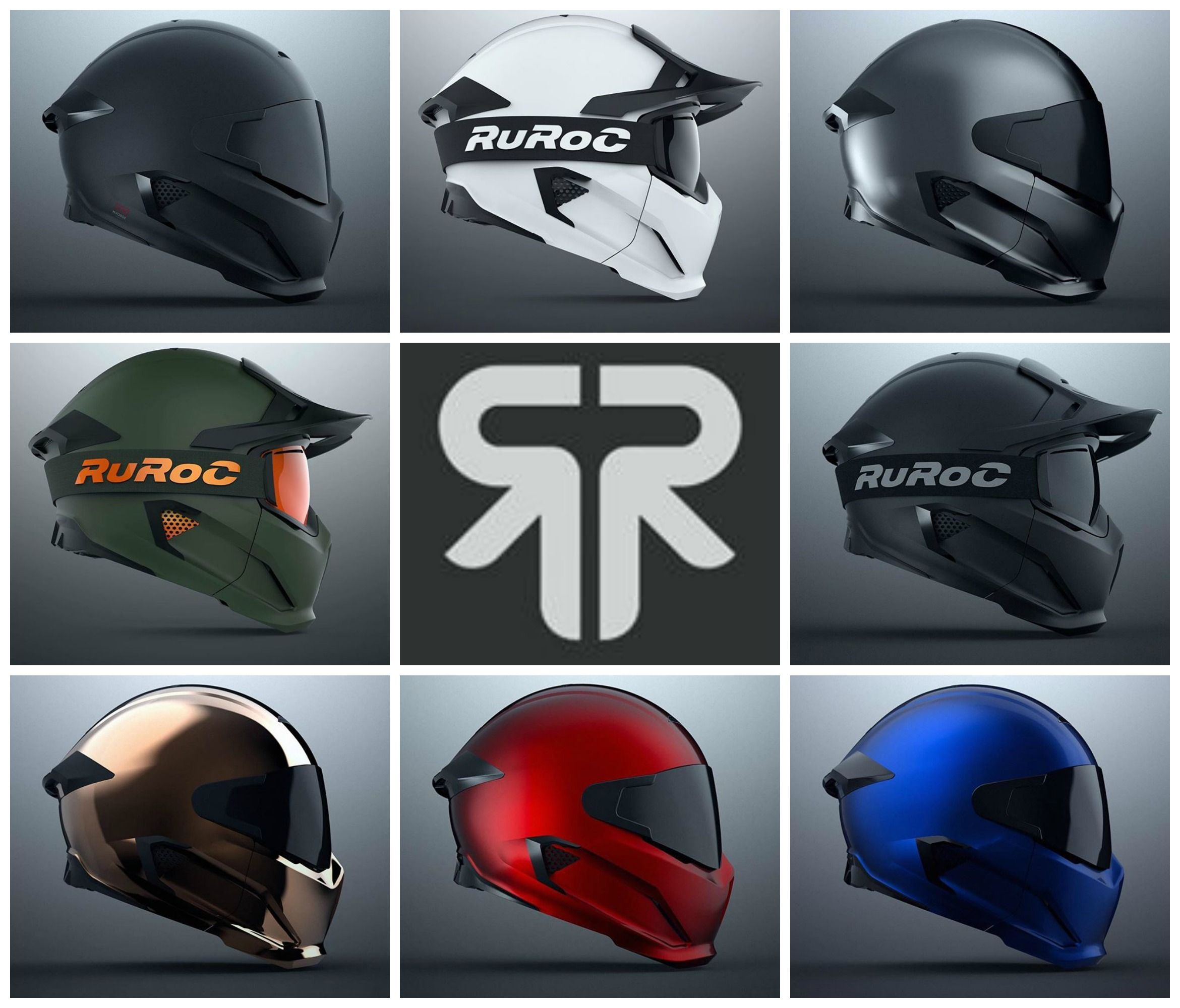 Ruroc Motorcycle Helmet | Motorcycle helmet, Helmets and Riding gear
