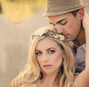 Flower Crown, Ivory Wedding Flower Headband, hair flower, fairy wedding hair, hair accessory, flower girl - ANABELLE - -$95.00