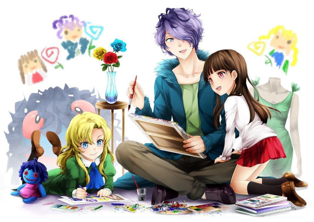 Mary, Garry and Ib