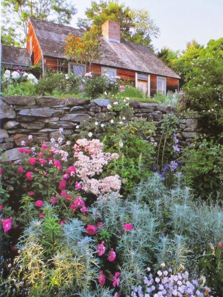 Le Jardin De Tasha Tudor Jardins Champetres Joli Jardin
