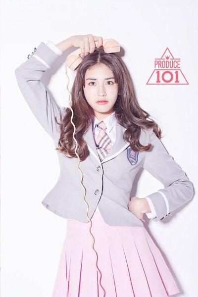 I O I Produce101 Jeonsomi Produce 101 Model Pakaian Idol