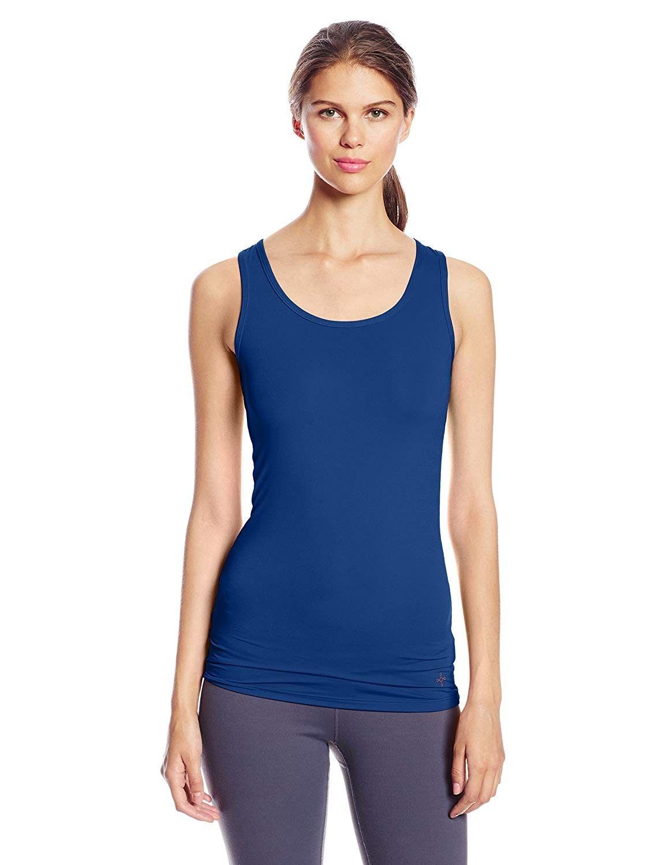 Women's Recovery Tempo Tank Top - Cobalt Blue - CV11LWV3XUR - Sports & Fitness Clothing, Women, Shir...