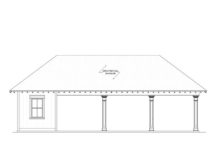 076g 0019 3 Car Carport Plan Carport Plans In 2018 Pinterest