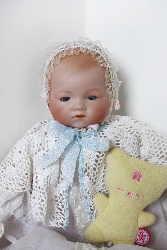 Armand Marseille doll, Dream baby doll, 341 German doll, german baby doll, baby doll, antique doll, vintage doll, bisque doll