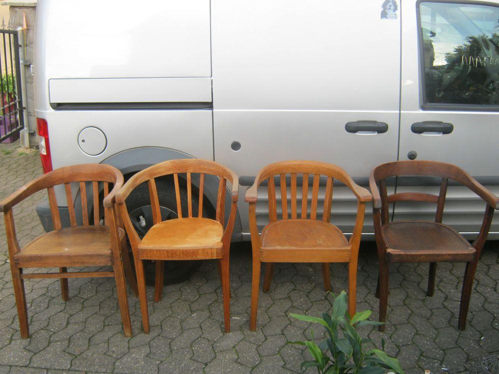 4 x bauhaus armlehnstuhl stuhl art deco gropius ra for Bauhaus replica deutschland