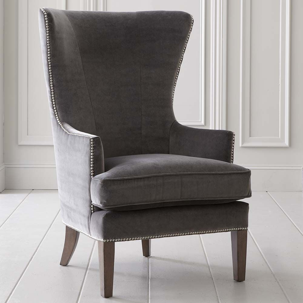 whitney accent chair | accent chairs, nail head and chairs