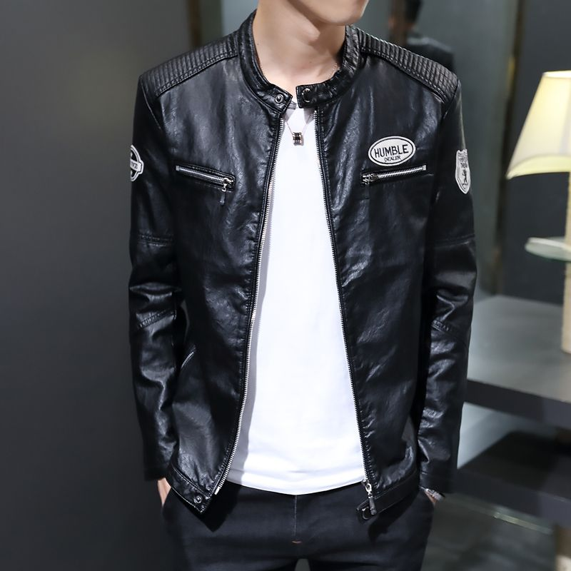 >> Click to Buy << Men's Leather Jackets 2016 Autumn Winter Soft PU Leather Jackets Imitation Sheepskin Coat For Men Leather Clothing  #Affiliate