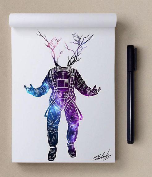 Pin de Giovanna Gullo en dibujos | Pinterest | Dibujo, Galaxias y ...
