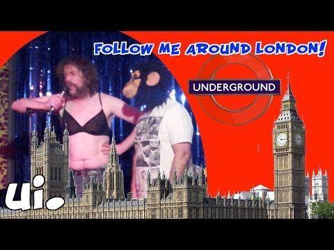 Ein deutscher Comedian unterwegs in Liverpool und London! Interessant und lustig!  German Comedian in London!!! follow me around!
