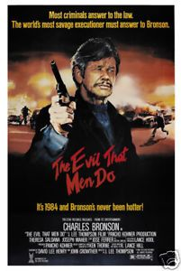 Details About The Evil That Men Do Charles Bronson Movie Poster