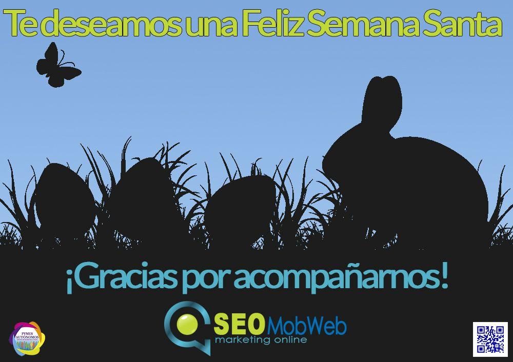Te deseamos una feliz #SemanaSanta. Gracias por acompañarnos!!