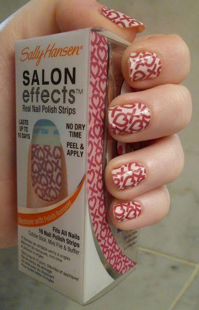 Sally Hansen Cross My Heart Nail Stickers Nail Art Pinterest