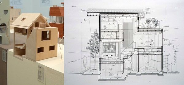 Atelier bow wow machiya google search grenada for Bow house plans