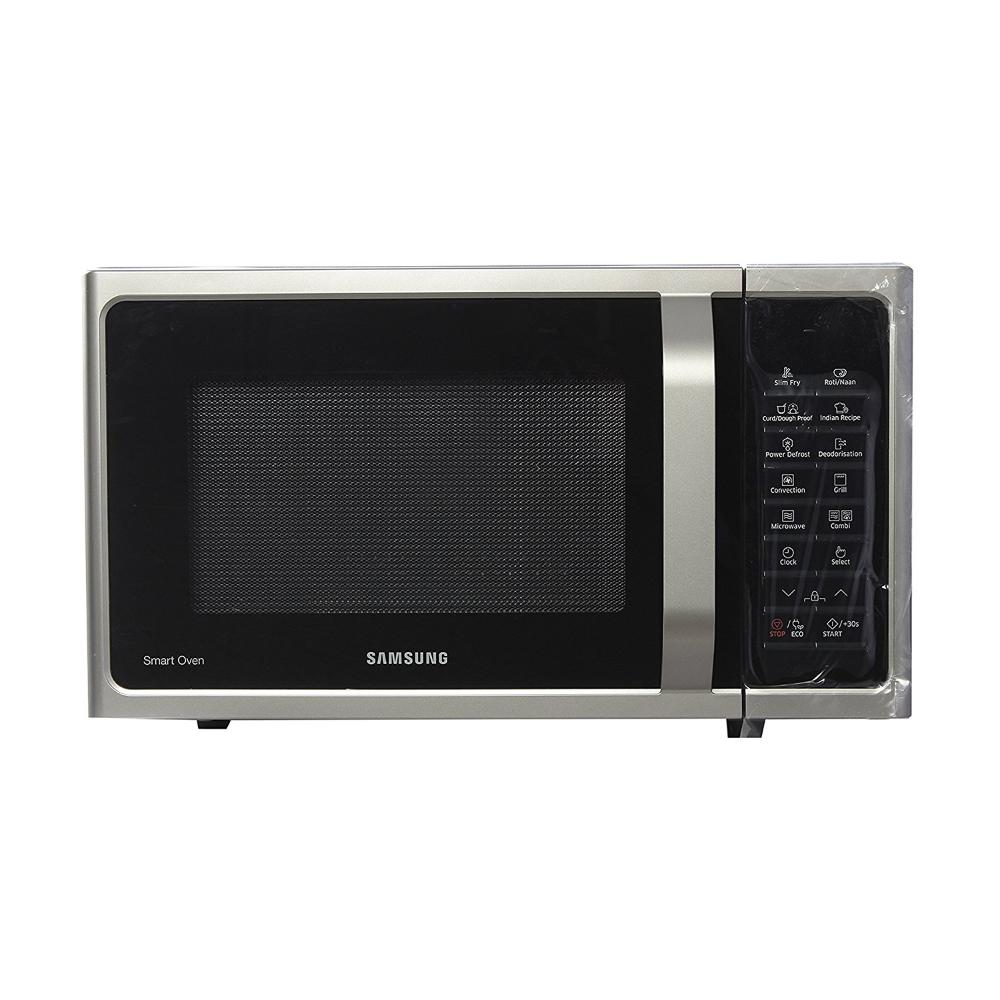 Samsung 28 L Convection Microwave Oven Mc28h5025vs Tl Silver In 2020 Microwave Convection Oven Convection Microwaves Microwave Oven