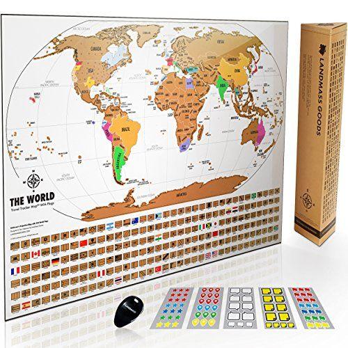 Landmass scratch off world map poster original travel tr https landmass scratch off world map poster original travel tr https gumiabroncs Gallery
