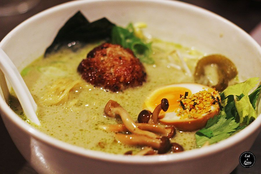 Curry verde bassanova Chuka Ramen Bar Madrid