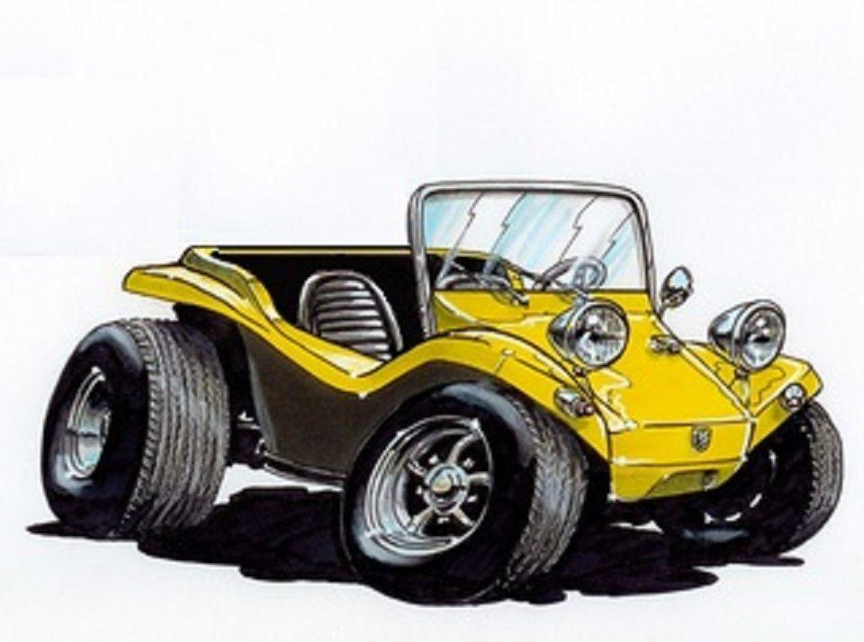 Pin By Darren Kopp On Wonderful Illustrations Cartoon Car Drawing Art Cars Car Cartoon
