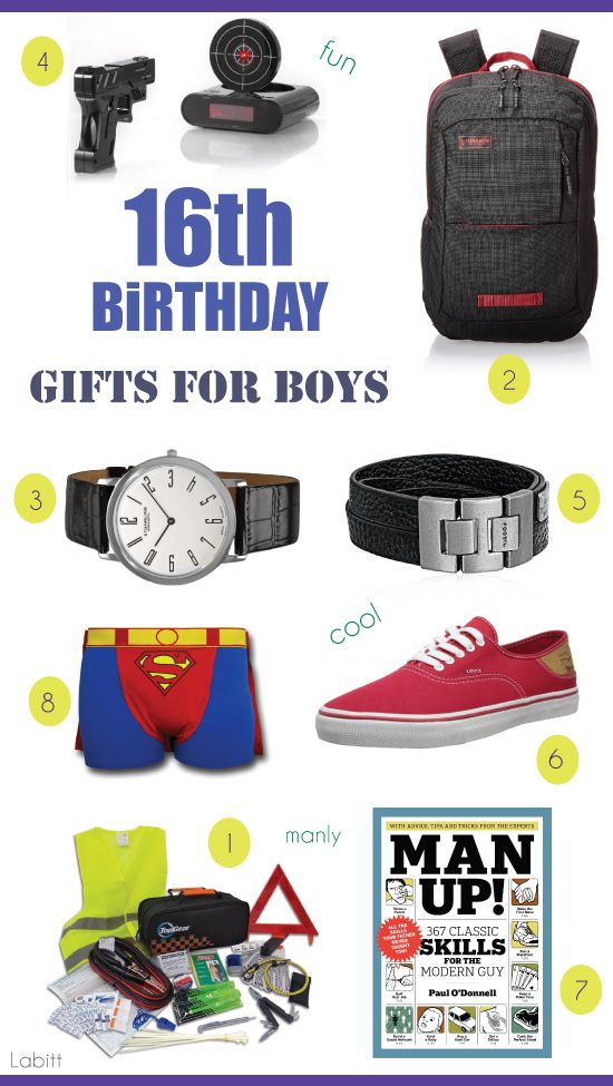 Best 16th Birthday Gift Ideas For Boys Teen Guys Approved