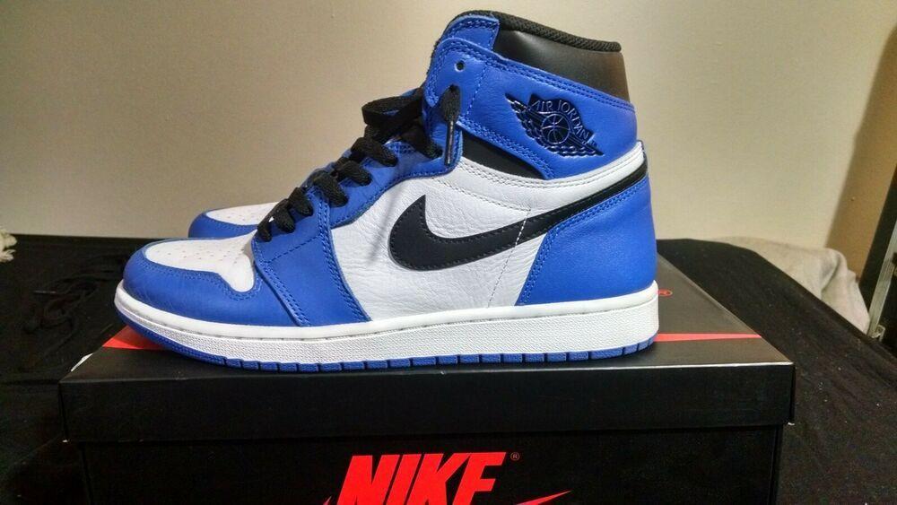 Nike Air Jordan 1 Retro High Og Game Royal Original Box