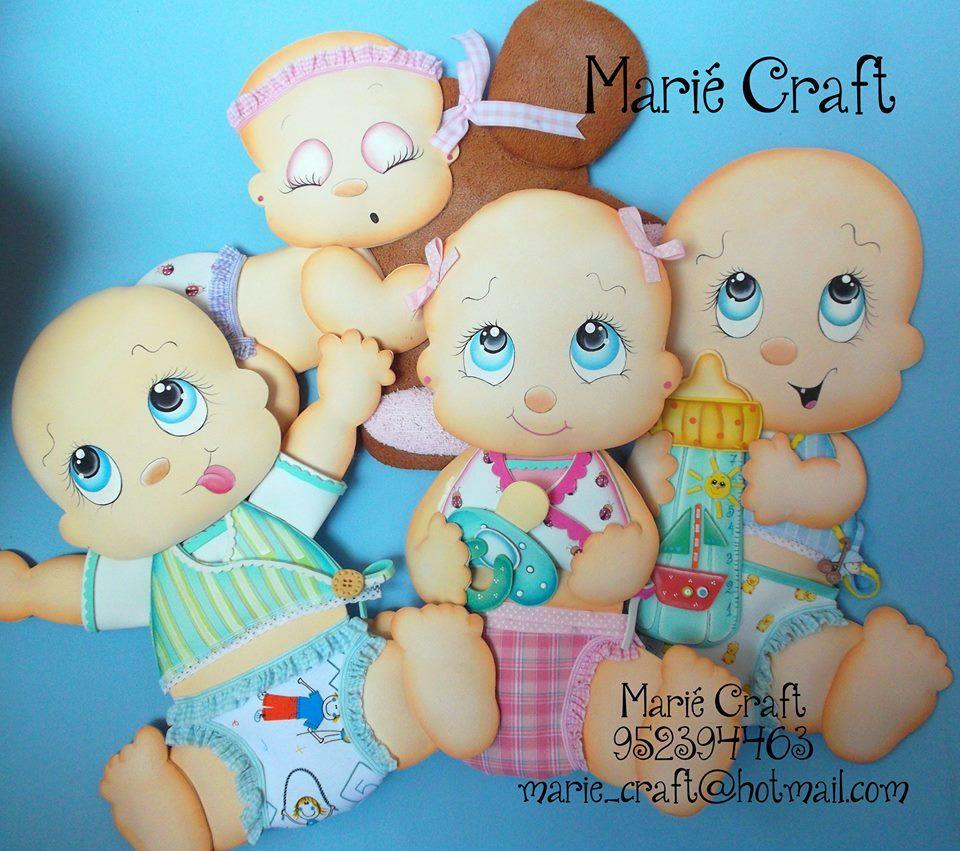 bebes en goma eva by marie craft gomaeva