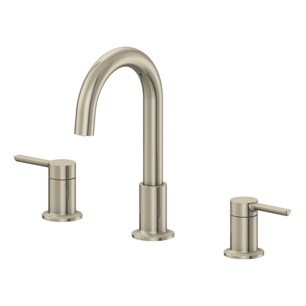 Ez Flo Metro 8 In Widespread 2 Handle Bathroom Faucet With 50 50 Pop Up In Brushed Nickel Faucet Lavatory Faucet Bathroom Faucets