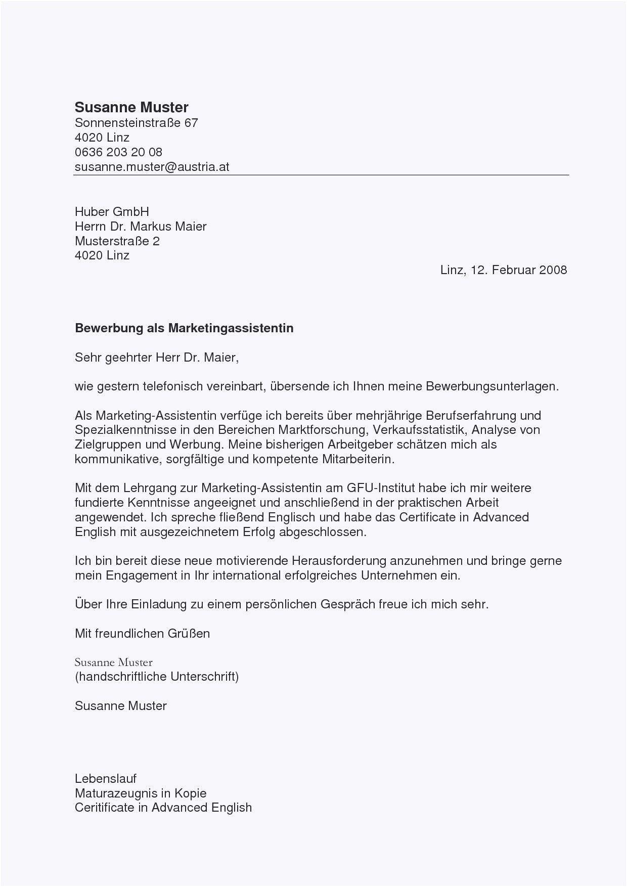 Briefprobe Briefformat Briefvorlage Trauerrede Bewerbung Schreiben Lebenslauf