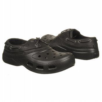3139aaf6d Men s Crocs Islander Sport Black Black Shoes.com