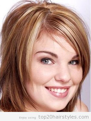 Pin On Haircut And Styles For Fat Faces