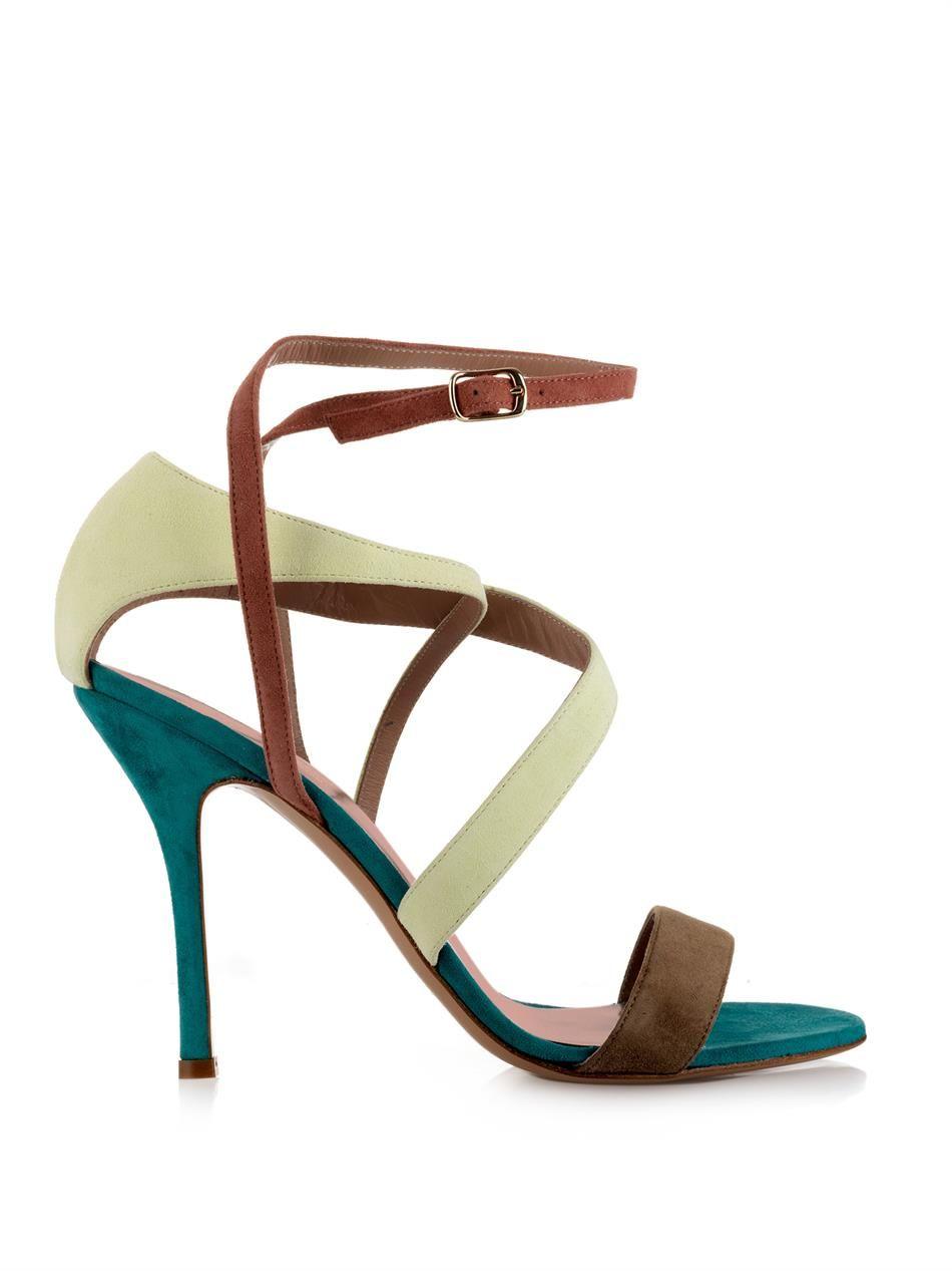 Sophie Theallet Rita multi-cross suede sandals