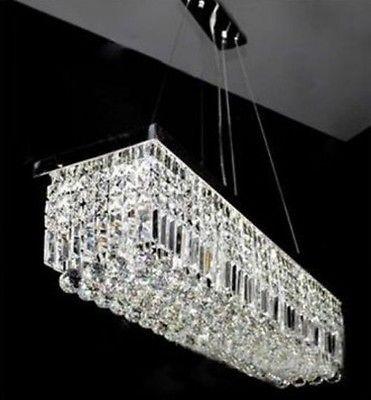 7PM Modern Luxury Crystal Chandelier