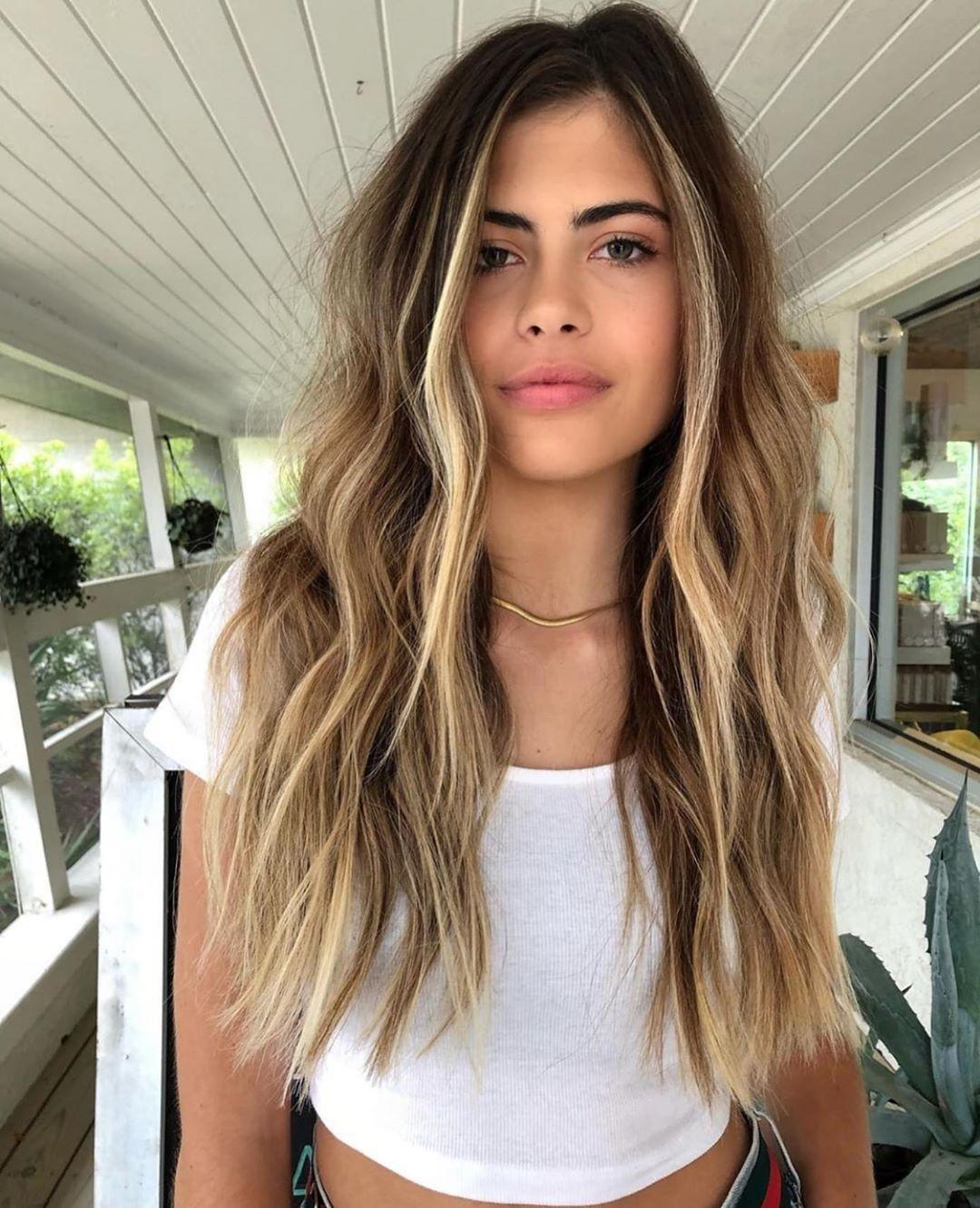 Haare highlights braune blonde 50 Stilvolle