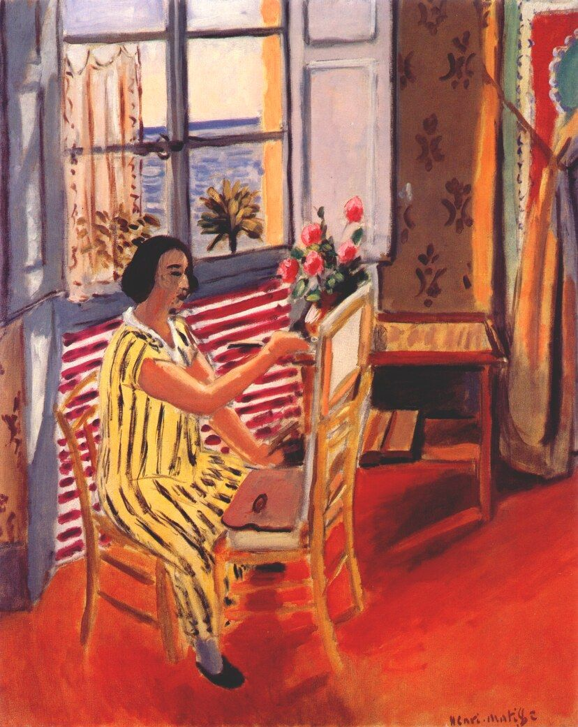 The Morning Session by Henri Matisse, 1924 | Riviera Francesa ...